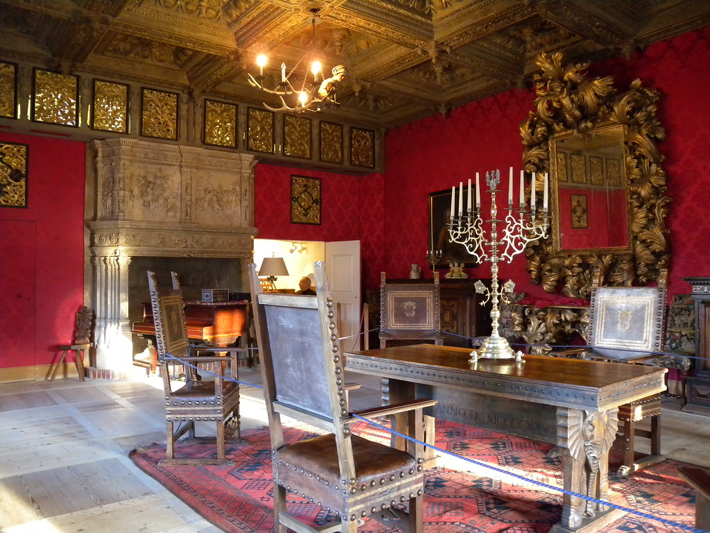 Schloss Tarasp Musikzimmer