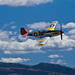 May-11-Vintage WWII P-51 Mustang Airborne