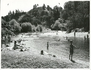 Swimming at Maitai Valley, Nelson
