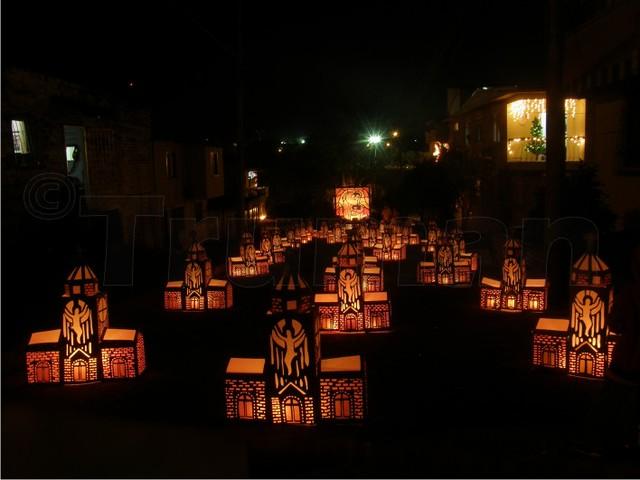 Imagen del Alumbrado de Quimbaya y sus faroles en la calle - Los 10 Mejores Lugares Turísticos del Quindio