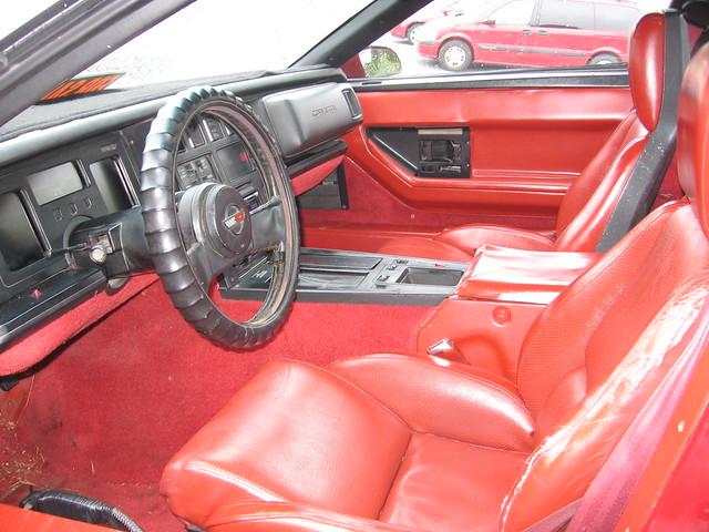 1984 Corvette Interior 1 Flickr Photo Sharing