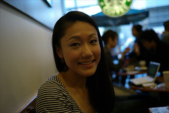 Starbucks Portrait, 2 November 2009
