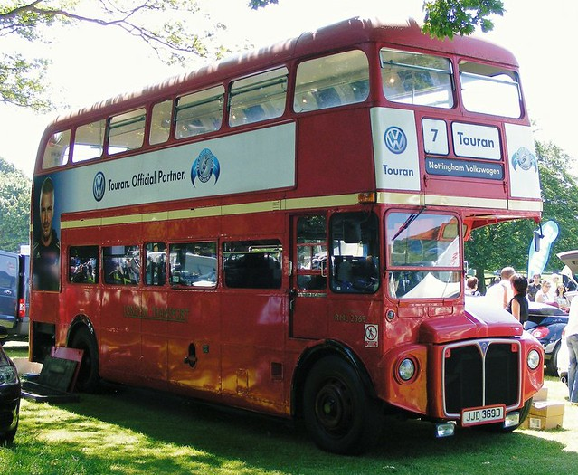 Routemaster Long RML2369 JJD 369D