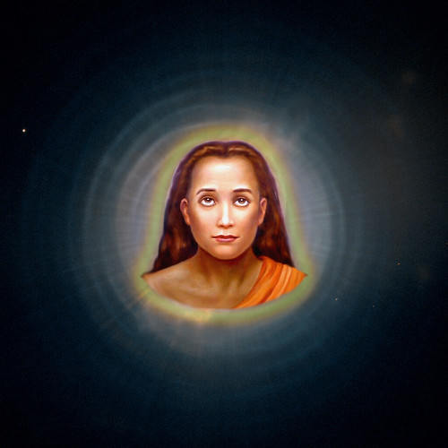 babaji with bliss light