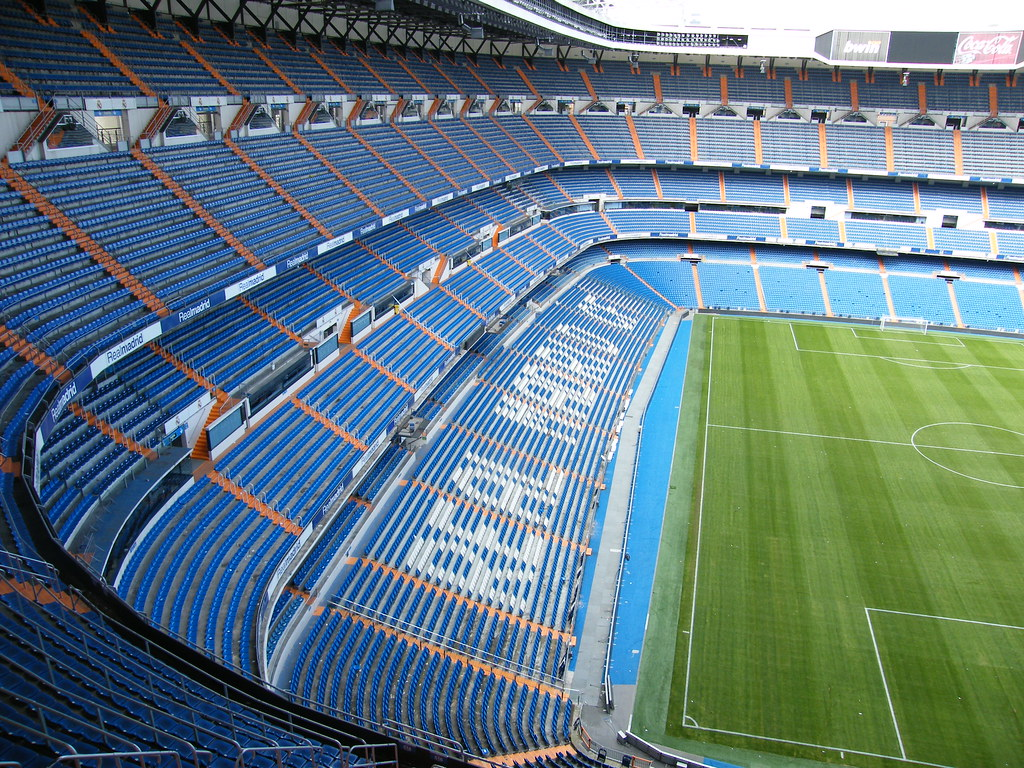 Real Madrid // Santiago Bernabeau Stadium // Madrid // Spain