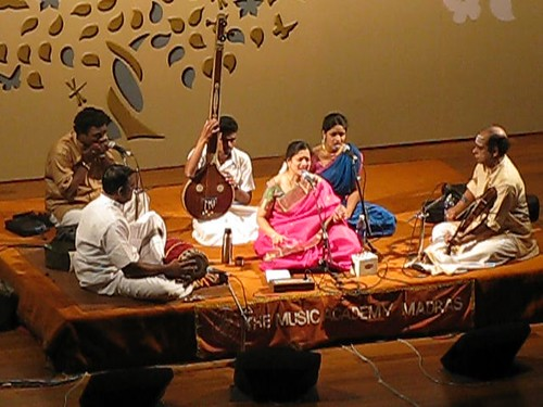 Soulful Music, in carnatic style at the Academy in Chennai