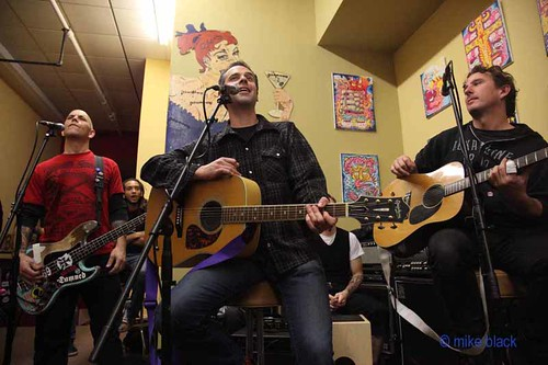 The Bouncing Souls In Store December 2009