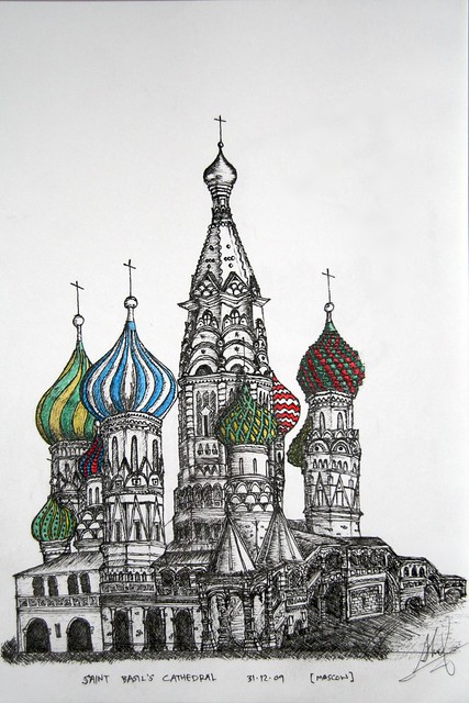 saint basils cathedral coloring pages - photo#33
