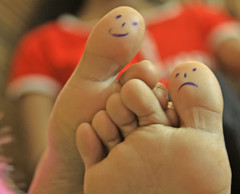 Toe Art...get the confidence