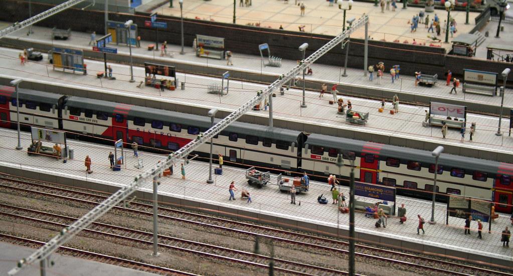 Miniature Railway Station by Andrey Belenko, on Flickr