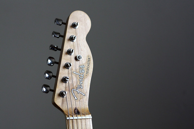 Photo:Fender Telecaster headstock By jboylan67