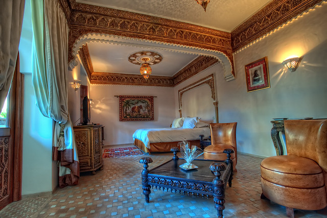 Indian suite marrakech morocco hdr flickr photo - Decoracion marruecos ...