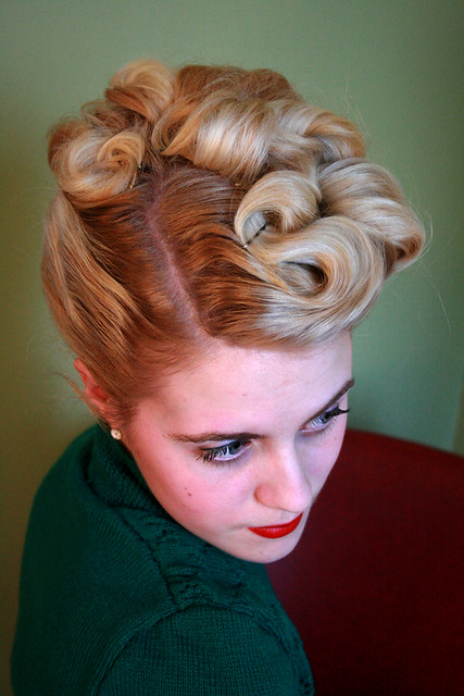 the 40's updo | Flickr - Photo Sharing!