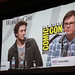 Small photo of Kick-Ass panel - Aaron Johnson, Clark Duke