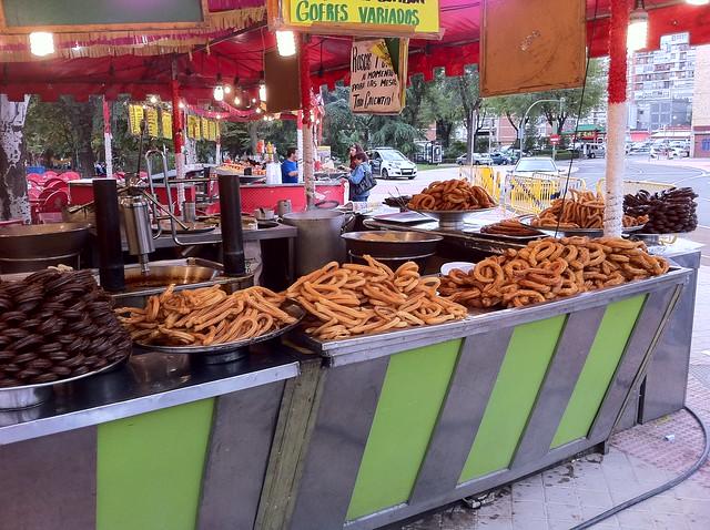 chocolate, churros, Spain, Madrid, expat, travel