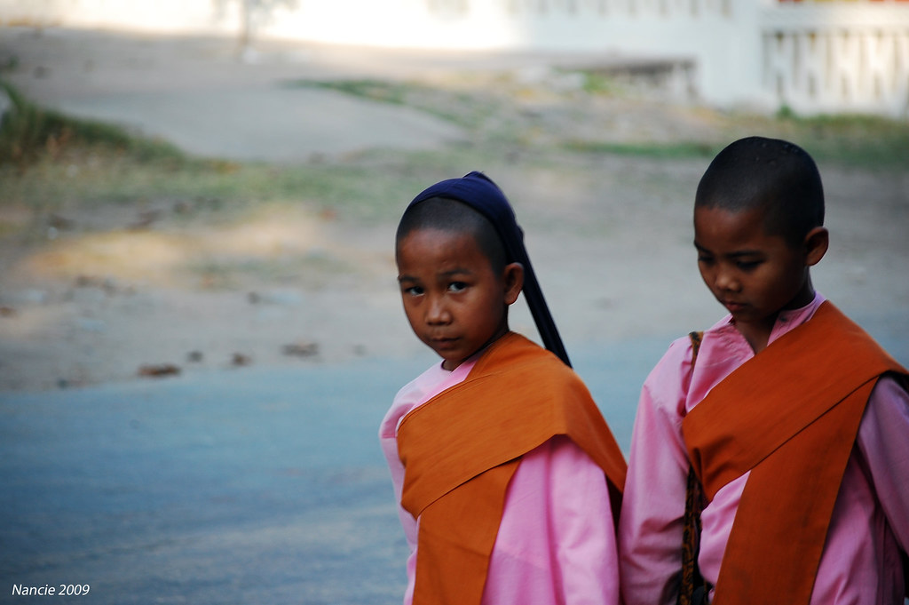 Young Female Monks