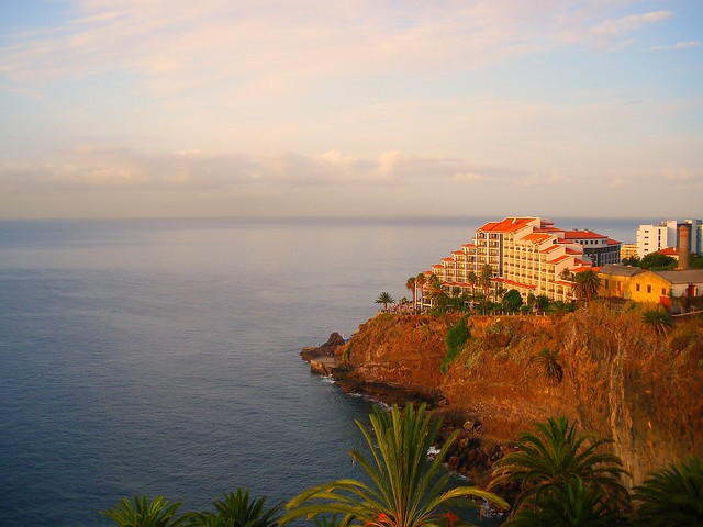 Sunset in Madeira, Portugal - Flickr CC uggboy