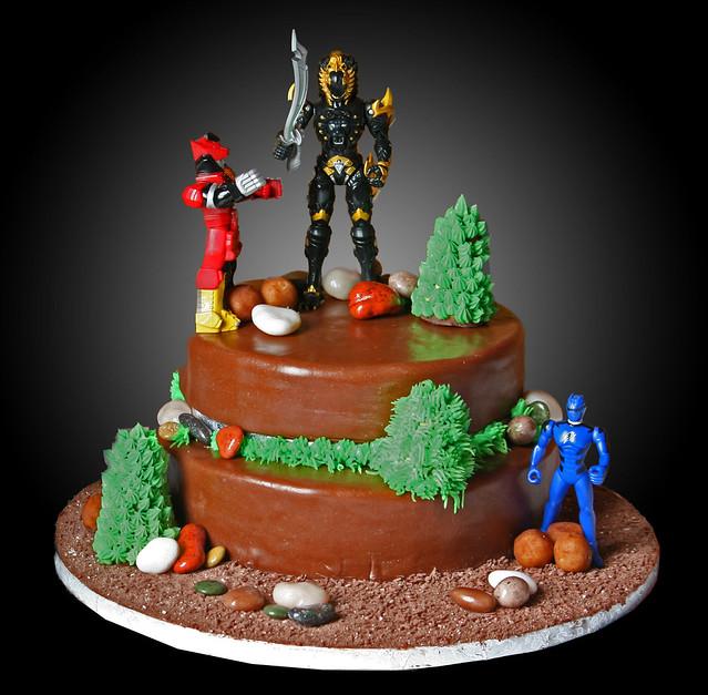 Power Rangers Birthday Cake Tesco