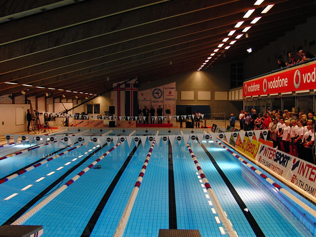 Tórshavn's swimming pool ready for the FAR-ISL 2009 Dual Meet