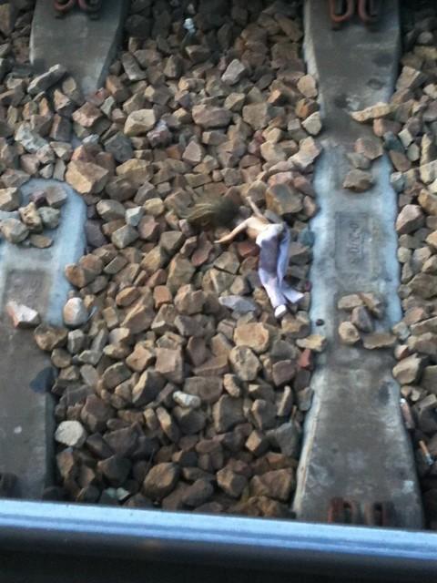 Suicide en gare de Franconville