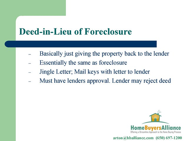 warranty deed in lieu of foreclosure Recorded at the request of: when recorded, mail to: order no: warranty deed (in lieu of foreclosure) for the good and valuable considerations hereinafter set forth, receipt of which is hereby acknowledged, i or we.