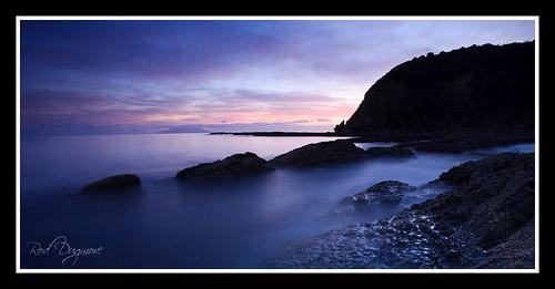 sunset newzealand seascape sunrise rocks omaha canon5d canonef1740mmf4lusm