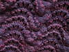 lace cowl close up