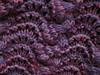 lace cowl close up