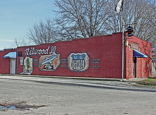 Nilwood Il Iron Sleds Motorcycle Club Clubhouse Flickr Photo Sharing