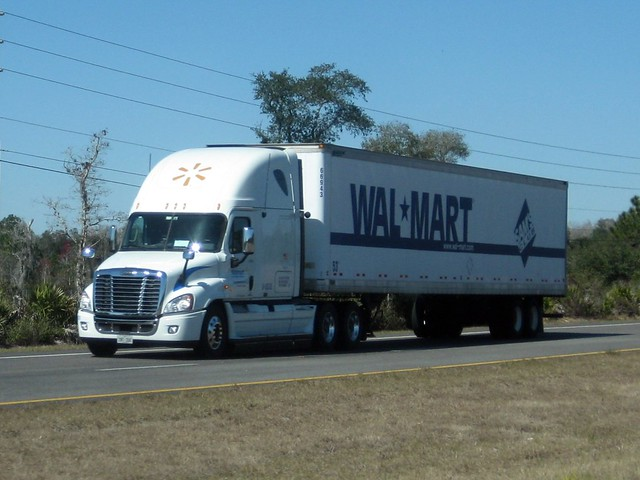 walmart freightliner cascadia flickr photo sharing. Black Bedroom Furniture Sets. Home Design Ideas
