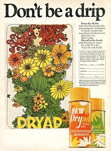 Dryad Deodorant Ad