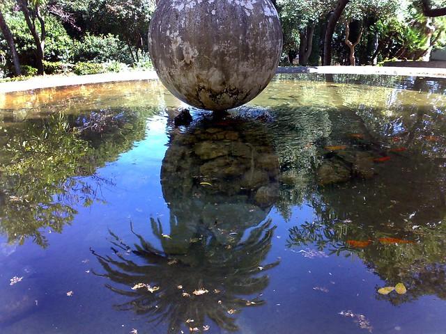 Catanzaro villa margherita la vasca dei pesci rossi for Vasca pesci rossi giardino