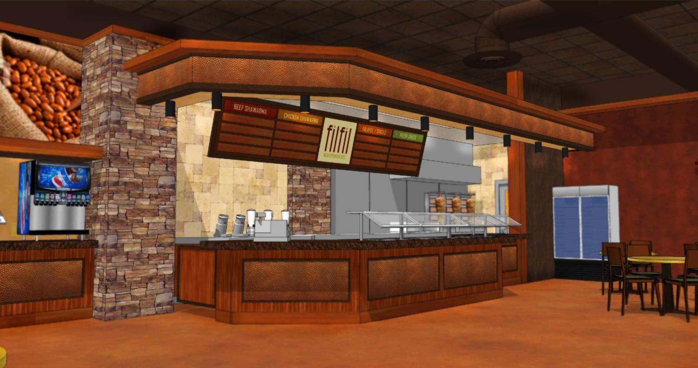 Restaurant design f b decor design interior for 3d restaurant design software