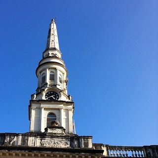 Imageof St George's Cathedral. india cathedral bluesky stgeorge chennai britishindia