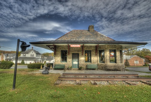 Califon Train Station - New Jersey by flying cats