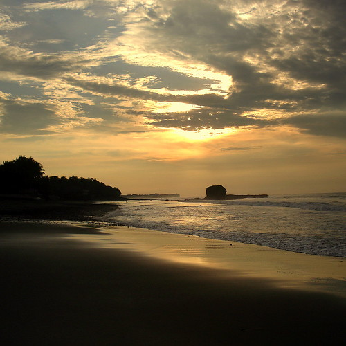 beach sunrise elsalvador the4elements eltunco