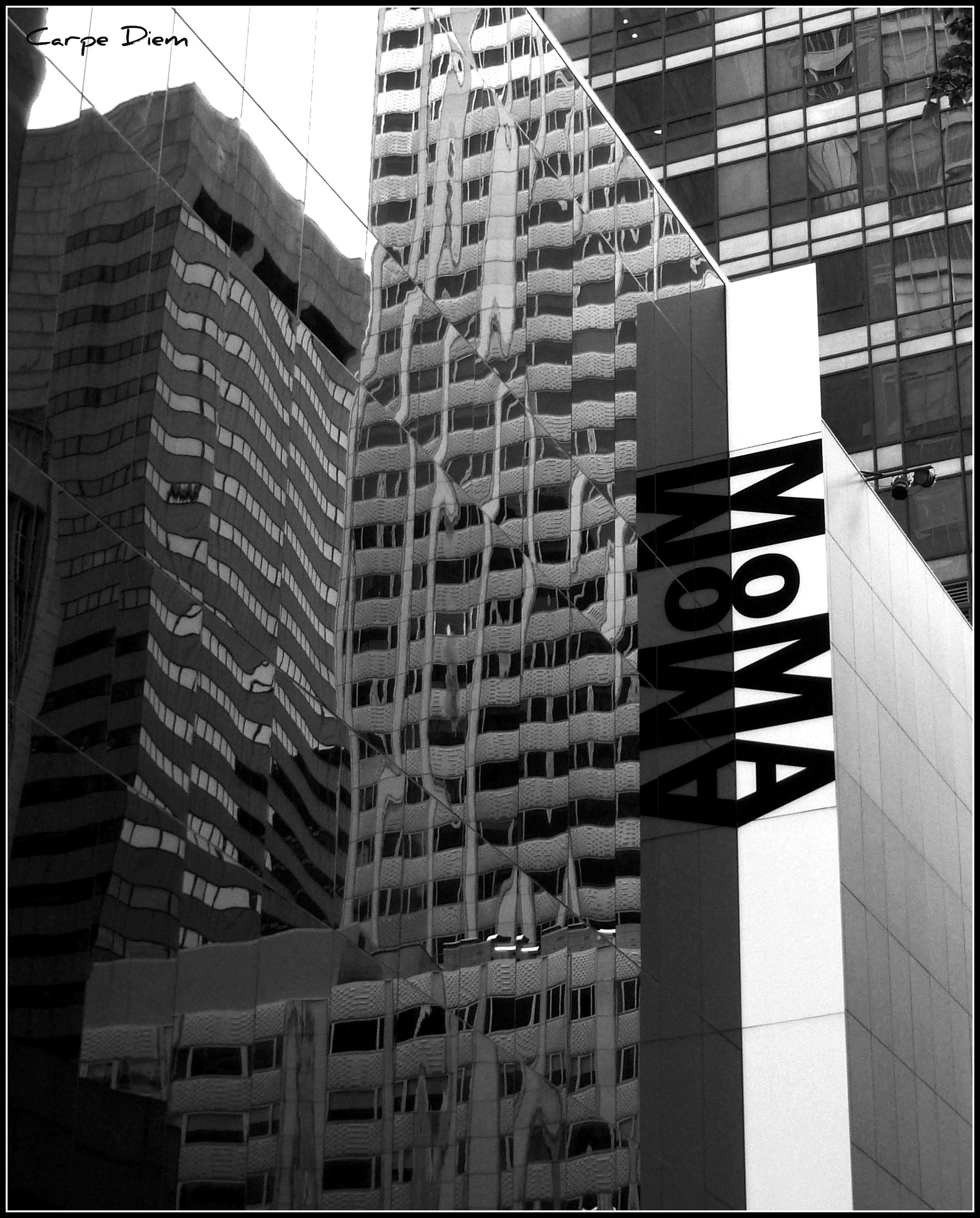 exterior reflection moma new york city flickr photo sharing. Black Bedroom Furniture Sets. Home Design Ideas