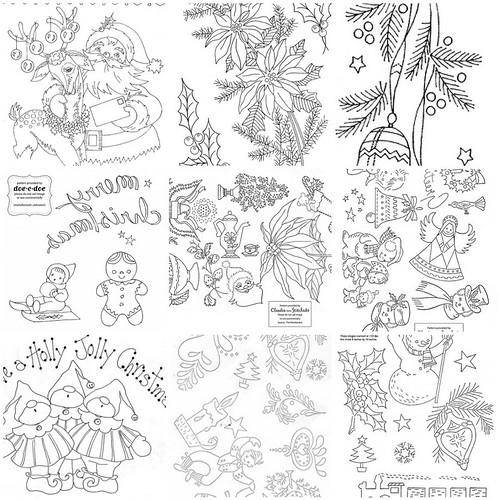vintage embroidery transfers  u00ab embroidery  u0026 origami