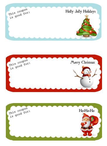 free printable holiday coupons | Flickr - Photo Sharing!