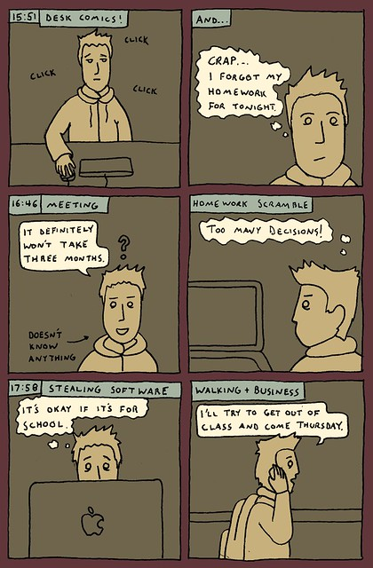 Hourly Comic Day 2010 - 4