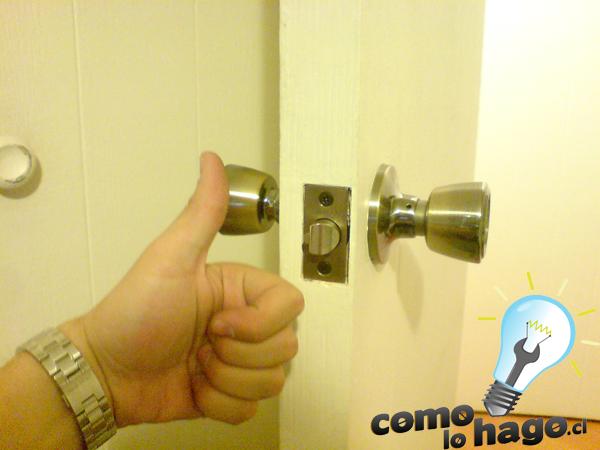 C mo lo hago c mo cambiar la chapa de una puerta for Como se hace una puerta de tambor