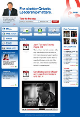 John Troy Campaign Website (Website)