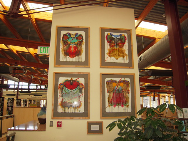 Artwork in the Library