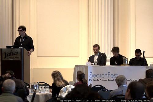Jordan Kasteler and the Tools & Competitive Intelligence Panel