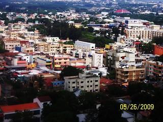 Skyview of Santiago, Dominican Republic