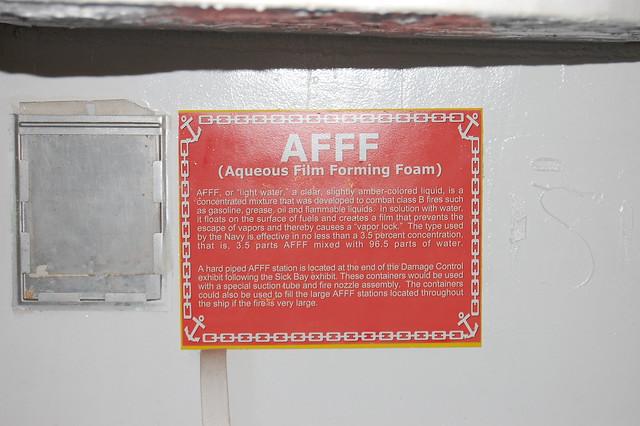 Header of AFFF