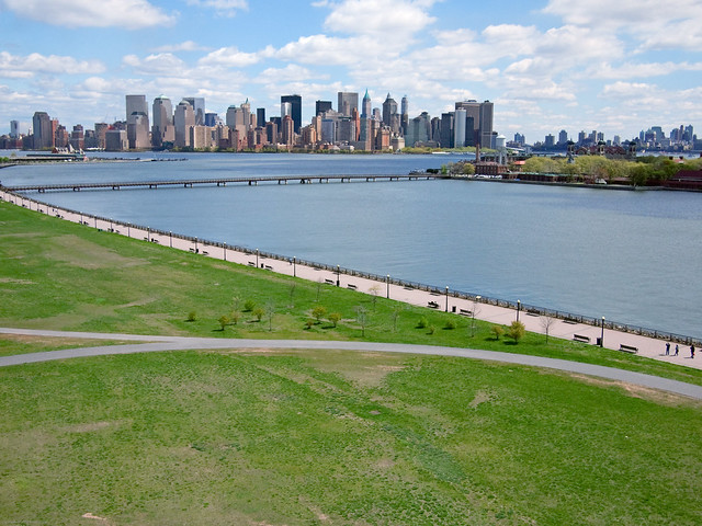 View From Liberty State Park
