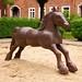 Ernst Löber, »Pferd«, 1990 by danichtfür