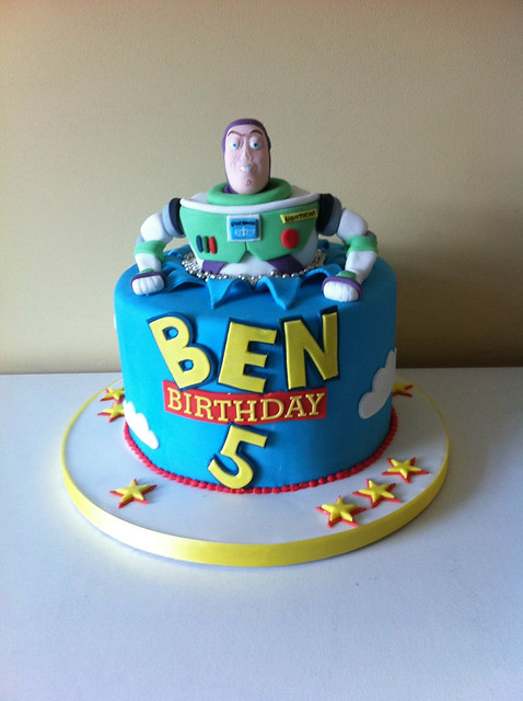 Buzz And Zurg Birthday Cake