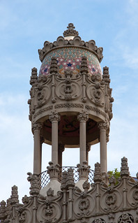 Bilde av Casa Lleó Morera nær Eixample. barcelona tower casa lleo morera